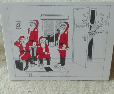 Bucks Fizz Christmas card