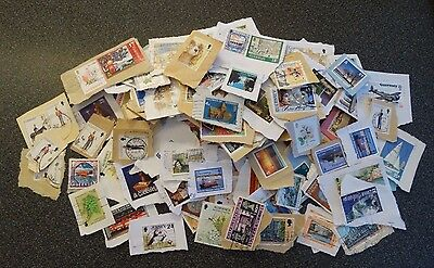 Guernsey Stamps Kiloware 50 grams- Lot as photo