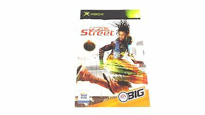 FIFA STREET :  INSTRUCTION MANUAL (BOOKLET) ONLY , xbox