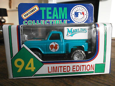 Matchbox MLB-94-27 Pick up Truck with Marlins decals