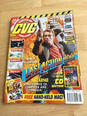 Computer And Video Games Magazine CVG #141 August 1993