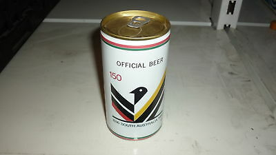 OLD AUSTRALIAN BEER CAN, 1980s WEST END  SOUTHWARK BITTER, 150th SA 5c GOLD TOP