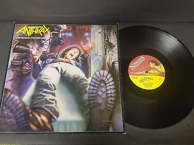 Anthrax ‎– Spreading The Disease - UK - 1985 - MFN 62