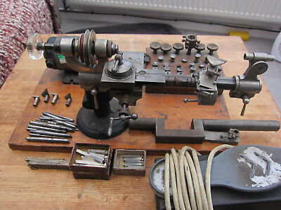 Vintage 8mm Watchmakers Lathe