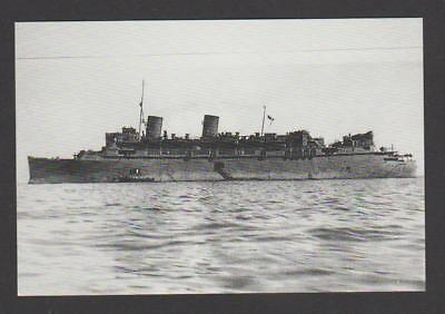 Furness Liner as HMS QUEEN OF BERMUDA ( WW2 Armed Mercant Cruiser & Troopship )