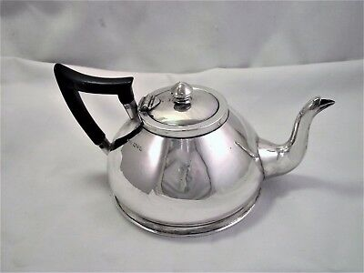 Arts & Crafts Solid Silver Sterling Silver Tea Pot - Chester 1911