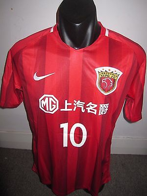 Shanghai SIPG HULK #10 China Nike Shirt Jersey Football Soccer X-Large