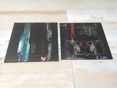 """NATURE & ORGANISATION """"Beauty Reaps The Blood.."""" signed LP Vinyl current 93 coil"""