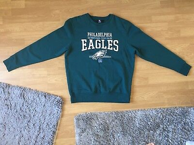 Philadelphia Eagles NFL Mens jumper american football XL sweatshirt sports green