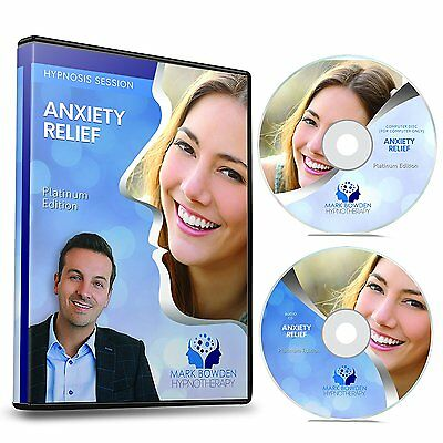 Anxiety Relief Hypnosis With Hypnotherapy AUDIO CD,