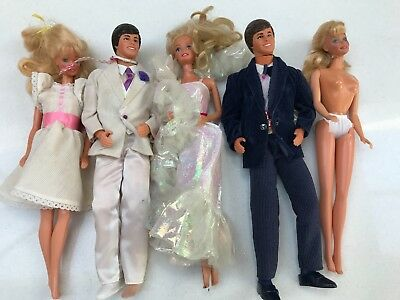 BARBIE & KEN DOLLS from the 1980s