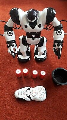 "Robosapien Robot Toy from WowWee, 14"" with Remote Control fully working."