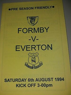 formby v Everton pre season friendly 6/8/1994