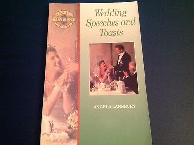 Wedding Speeches and Toasts Book (Family Matters),Angela Lansbury