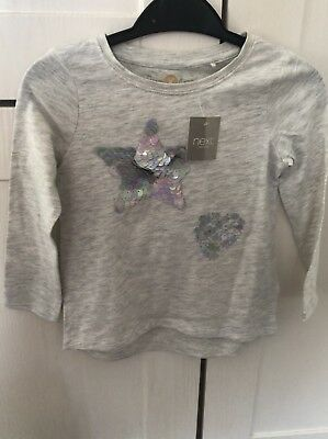 Girls Next Long Sleeved Top Age 3 Years