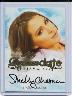 2017 Benchwarmer Dreamgirls Shelby Chesnes Dream Date Autograph Card