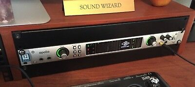 UAD2 Apollo Quad. Firewire+Thunderbolt Option - version with 4 mic preamps