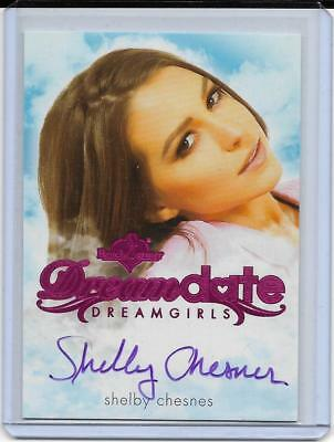 2017 Benchwarmer Dreamgirls Shelby Chesnes Dream Date Pink Foil Autograph Card