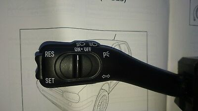 Cruise control Mk4 Golf/Bora/Beetle 1.8T Stalk, wiring and instructions