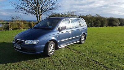 Hyundai, Trajet, 7 Seater, Low Mileage, Diesel, People Carrier / Van, Manual