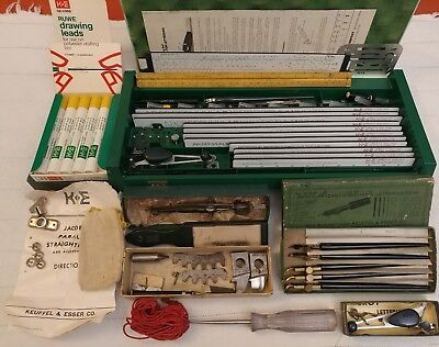 Huge Lot K&E Architechtural Drafting Lettering Engineering Tools