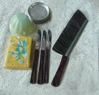 Lot of Vintage Stanley Home Kitchen Stuff Coasters Clothes Brush