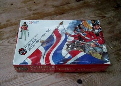 Airfix 1/32nd Scale Waterloo British Infantry c1973 boxed
