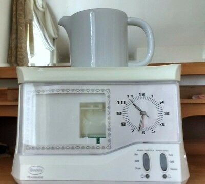 Swan TEAS-MADE with clock face display and photo window