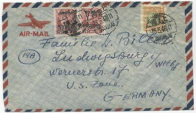 China 1948 Nice Airmail Cover To Germany