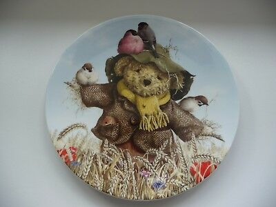 Royal Worcester -  Decorative English Fine Bone China Plate - 'Sam Scarecrow'