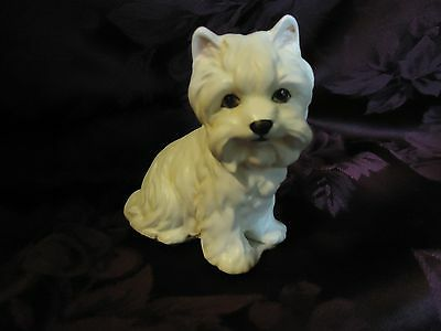 "4"" tall West Highland Terrier Dog Figure  Westie"