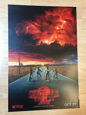 SDCC 2017 Comic Con Stranger Things 2 Netflix Poster