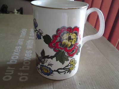 Roy Kirkham China Rose Bone China Mug, VGC, FREE-MAILING.
