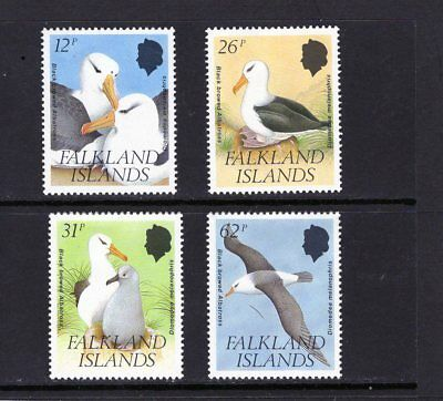 FALKLAND Is, 1990 Black Backed Albatros set of 4 MINT Mtd.