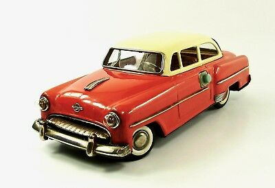 "1950s Opel Olympia Rekord 11.5"" Battery Operated 2-Door Sedan   by Yonezawa NR"