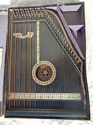 Zither Deutsch Amerikanische...DRGM 83825