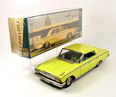"1962 Chevrolet Impala Hardtop 12"" Japanese Tin Car by ATC NR"