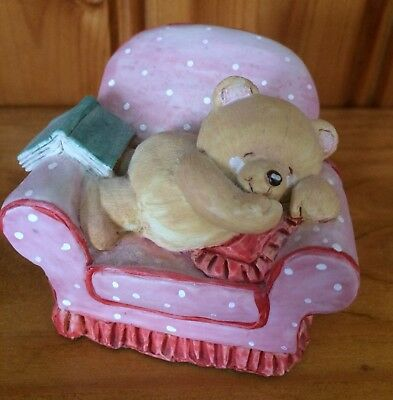 Forever Friends Bear On Chair