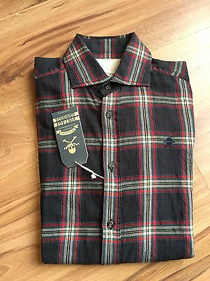 Camisa Button Down Shirt Scalpers-El Ganso Fred Perry-New-Talla 38