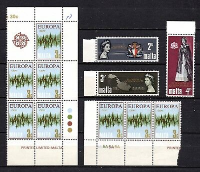Malta unmounted mint collection ,stamps as per scan(2993)