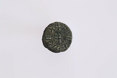 Anglo Saxon Northumbrian Styca Of Aethelred II, Moneyer Broder, S865