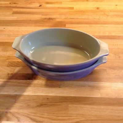 Denby Juice Gratin / Serving Dish X 2.