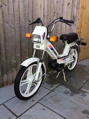Tomos A3 Disco Automatic Moped Garage Find 615 Miles Classic Scooter