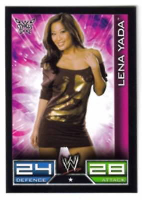 Carte Catch Slam Attax Diva : Léna Yada