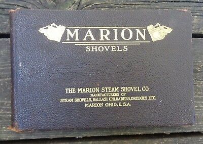 1890's Catalog Marion Steam Shovel Lots of Photos and Specs
