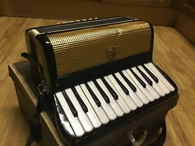 accordion small size vintage made in italy vintage
