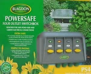 Blagdon powersafe PS4 4 outlet switch box