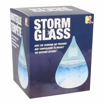 Weather Forecast Crystale Water Shape Storm Glass Bottle Christmas Gift New