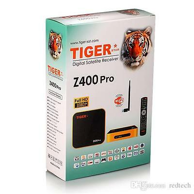 TIGER Z400POR COME WITH 1 Year Red IPTV 1 Year L7 IPTV 1 Year TOPTen 07830536333
