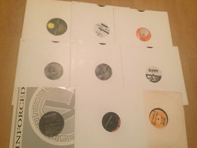 """9 x Classic Jungle Drum & Bass DnB Old Skool 12"""" Vinyl Record Collection 93 94"""